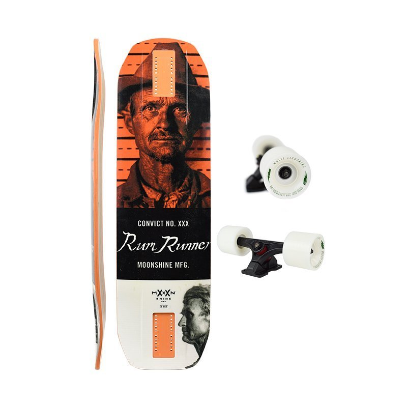Лонгборд комплект Moonshine Rum Runner Convict White/Orange